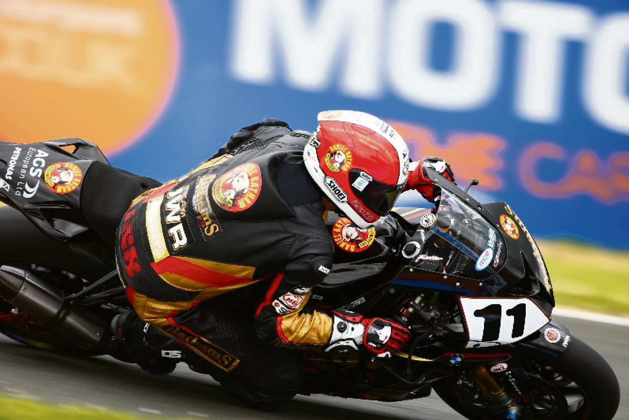 Rutter in action at Knockhill. Photo by Double Red.