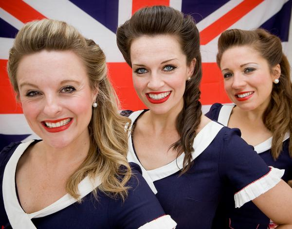 The D-Day Darlings will perform authentic