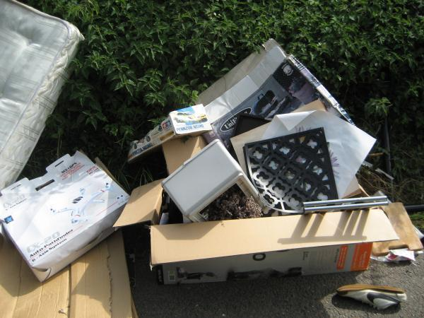 Paying rogue traders increases fly-tipping across the borough