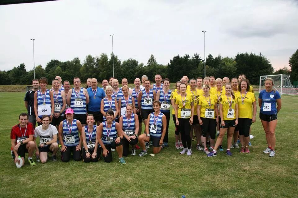 l Runners from DK Running Club join other clubs from the area to take on a mile challenge.