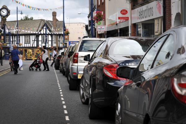 Motorists using Stourbridge town centre will soon benefit from more free on-street parking. Buy photo: 331442L.