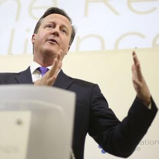 David Cameron will tell business leaders that the UK is '