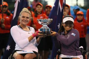 Whiley serves up Australian Open glory