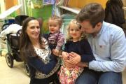 Steve Howell will be running the Great Birmingham 10k in aid of Birmingham Children's Hospital due to the support staff gave his family; Zoe, Alfie and Maisie-Grace.