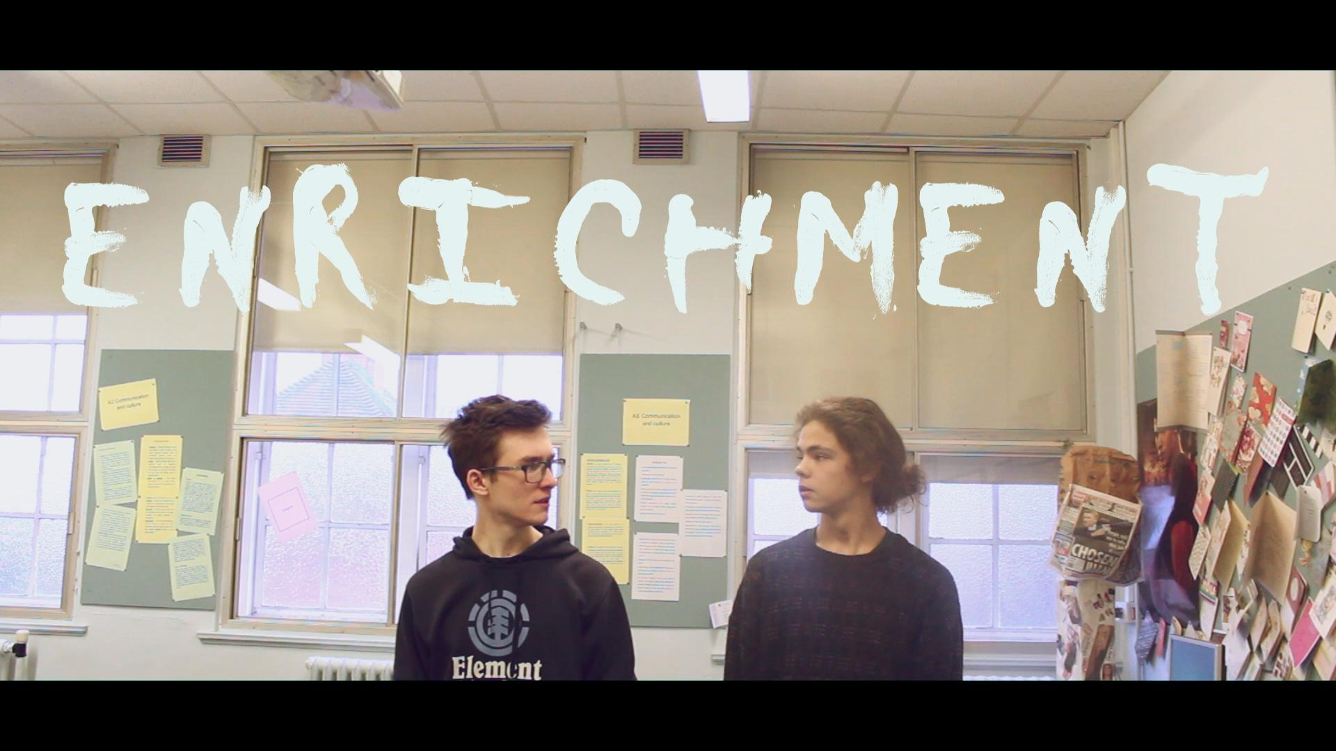 King Edward VI pupil Max Tobin needs to raise £1,300 to produce a dark comedy film about recreational drug use entitled 'Enrichment'.