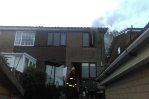 Black Country firefighters called to blaze in bedroom of Amblecote house