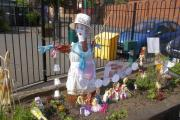 The second place prize in Quarry Bank Primary School's scarecrow competition went to the Nursery class entry entitled 'Mary, Mary…'.