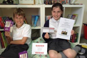 Amblecote pupils urge businesses to donate to their fundraising raffle