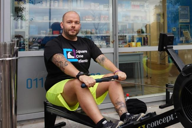 Kingswinford man Lee Felton, who has no previous experience, aims to row 3,000 miles across the Atlantic Ocean.
