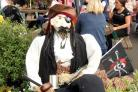 'Jack Sparrow' at The Queen's Pub during last year's festival