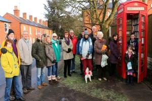 Celebrating five years of Belbroughton's mini-library