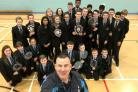 Pupils from the Kingswinford School's badminton team are celebrating success