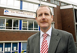 Outraged headteacher Michael Lambert