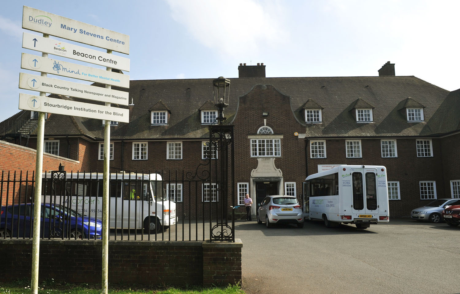 The Mary Stevens Centre in Hagley Road, Oldswinford.