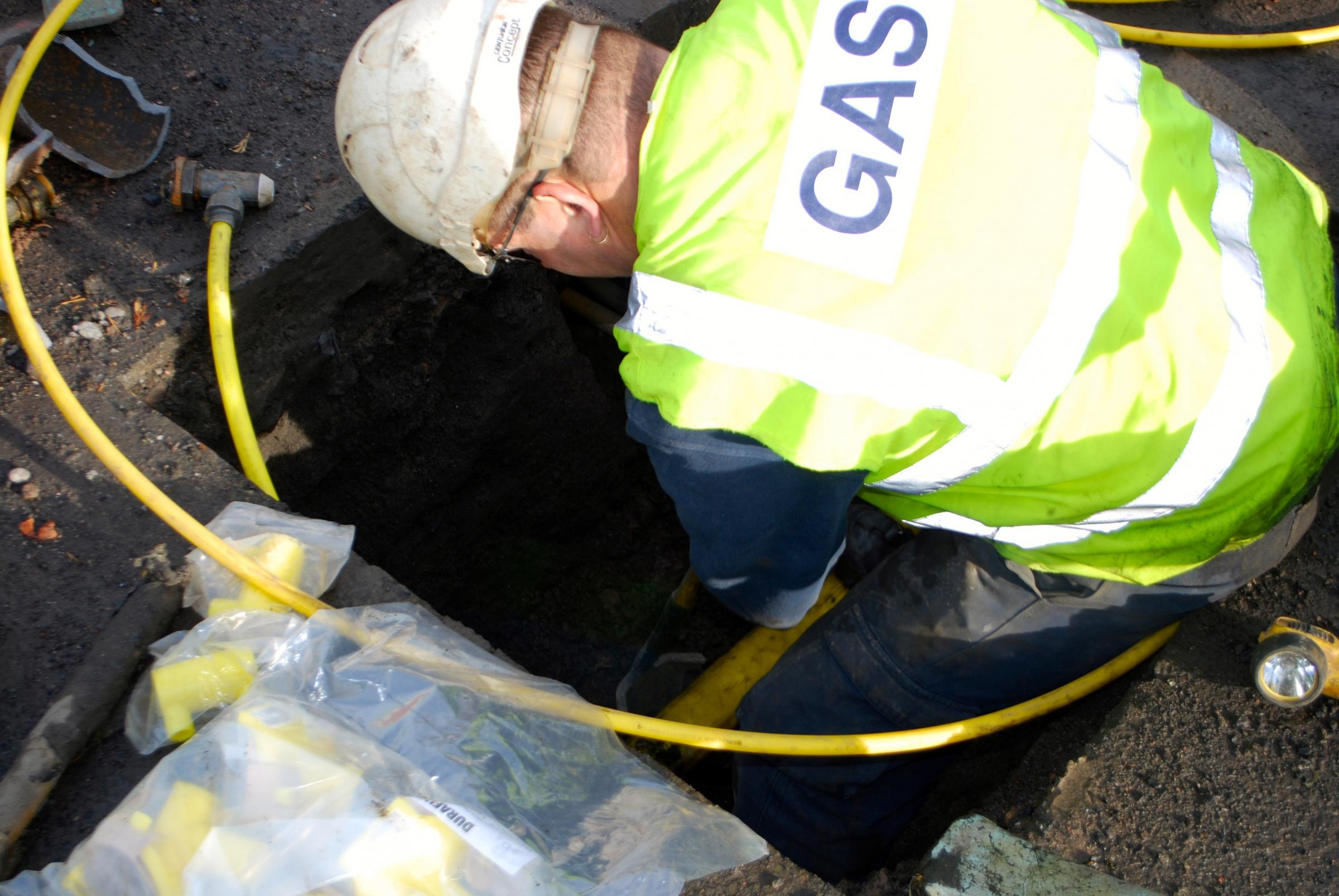'Essential' six-week gas mains replacement project gets underway. Photo: National Grid