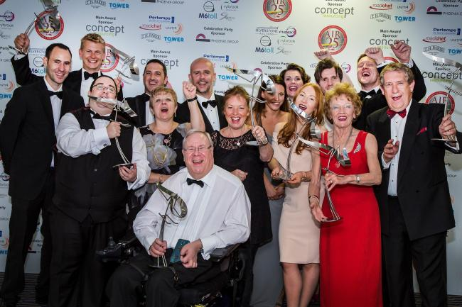 Last year's winners of Midlands Air Ambulance Charity's Recognition Awards. Photo: MAAC