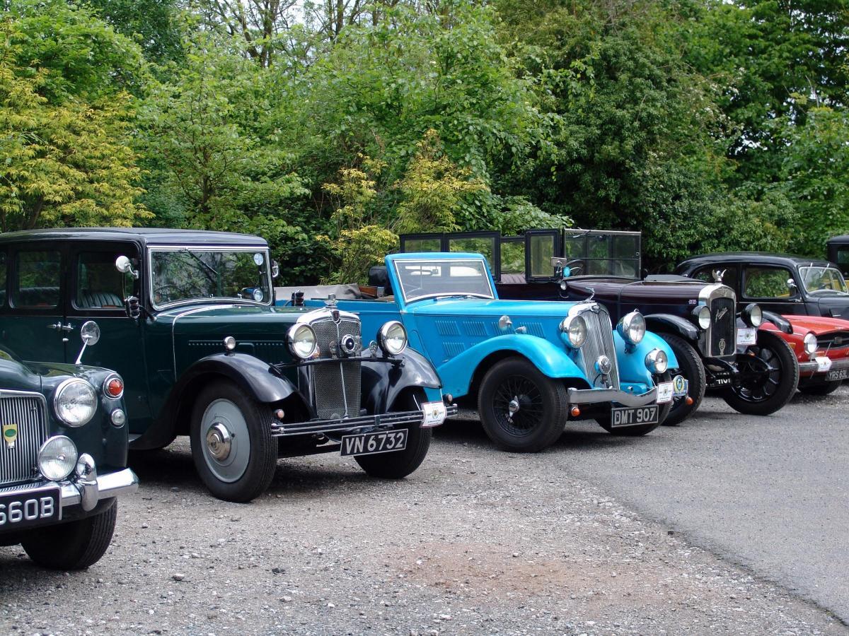 stourbridge pre war car club celebrates 50th anniversary with