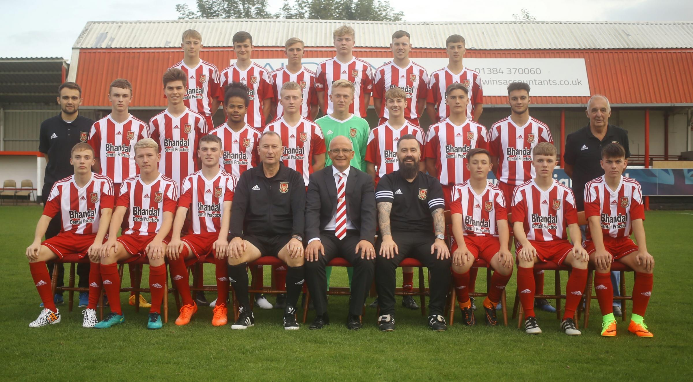 Stourbridge FC launched its new academy in September.