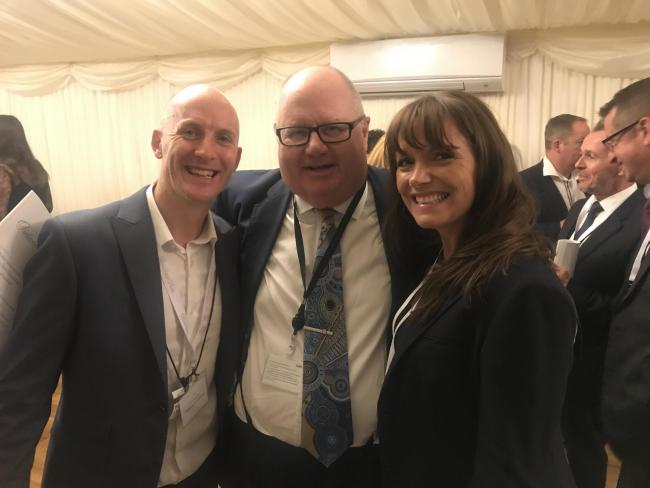 Highgrove developments in sedgley featured in parliamentary review andy and donna bremner with sir eric pickles who was recently appointed chairman of the malvernweather Images