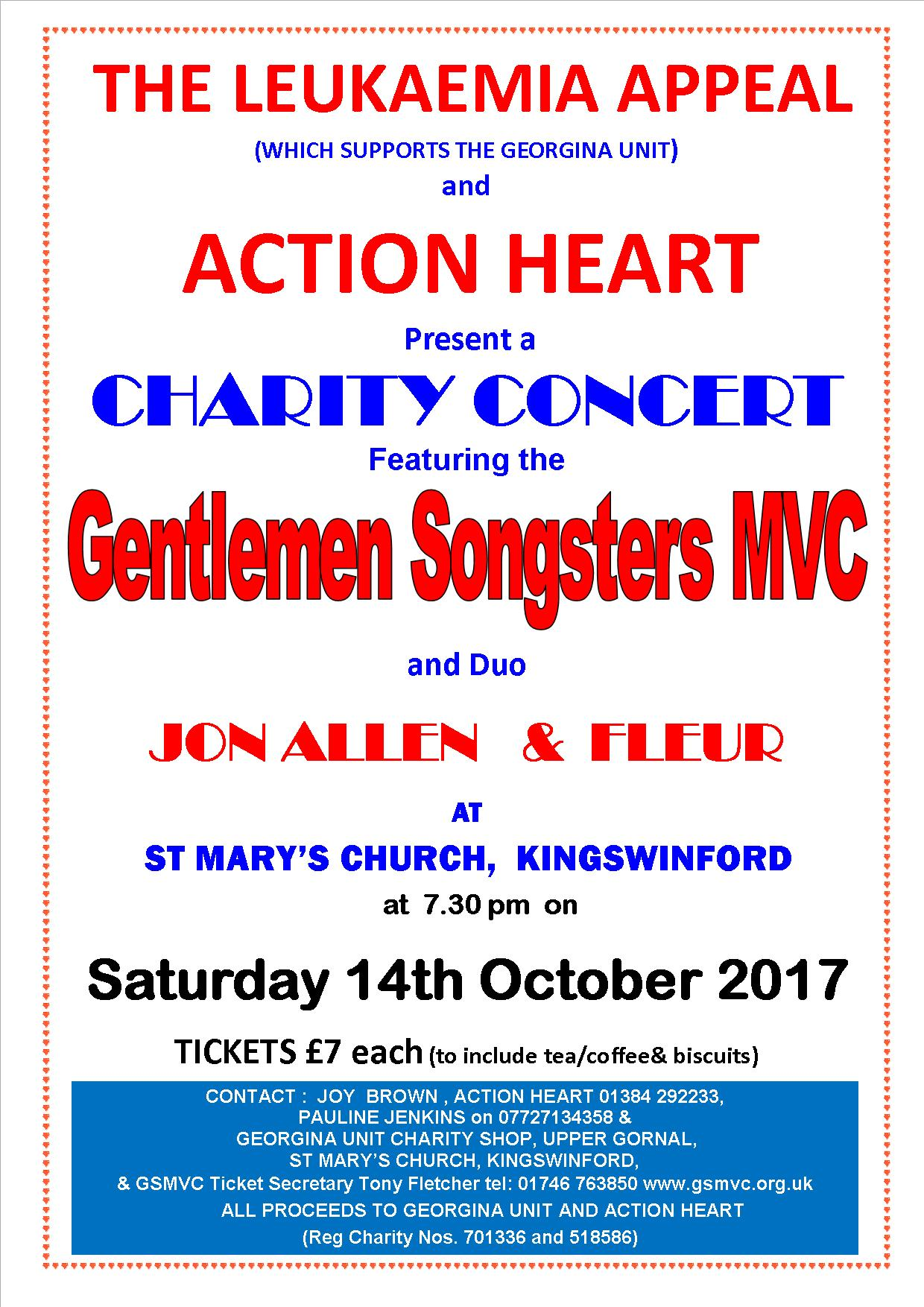Gentlemen Songsters to stage charity concert for two Dudley good causes
