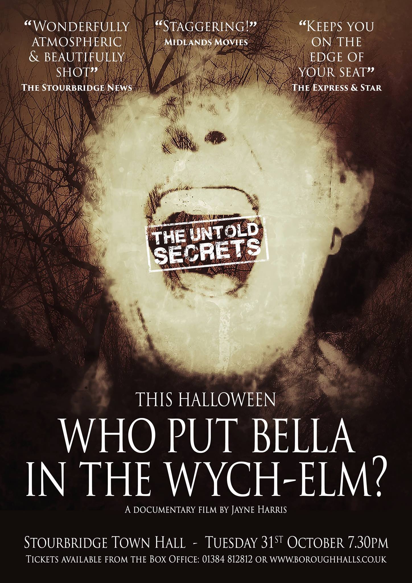 'Who put Bella in the Wych-Elm? - cinema screening