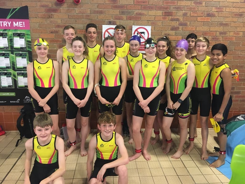 BCT's juniors took part in the annual Splash N' Dash Aquathon at the weekend.