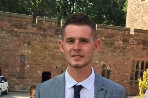 Stourbridge News: Undated family handout photo issued by West Midlands Police of murder victim Ryan Passey, 24, who was stabbed in the chest at Chicago's club in Stourbridge.