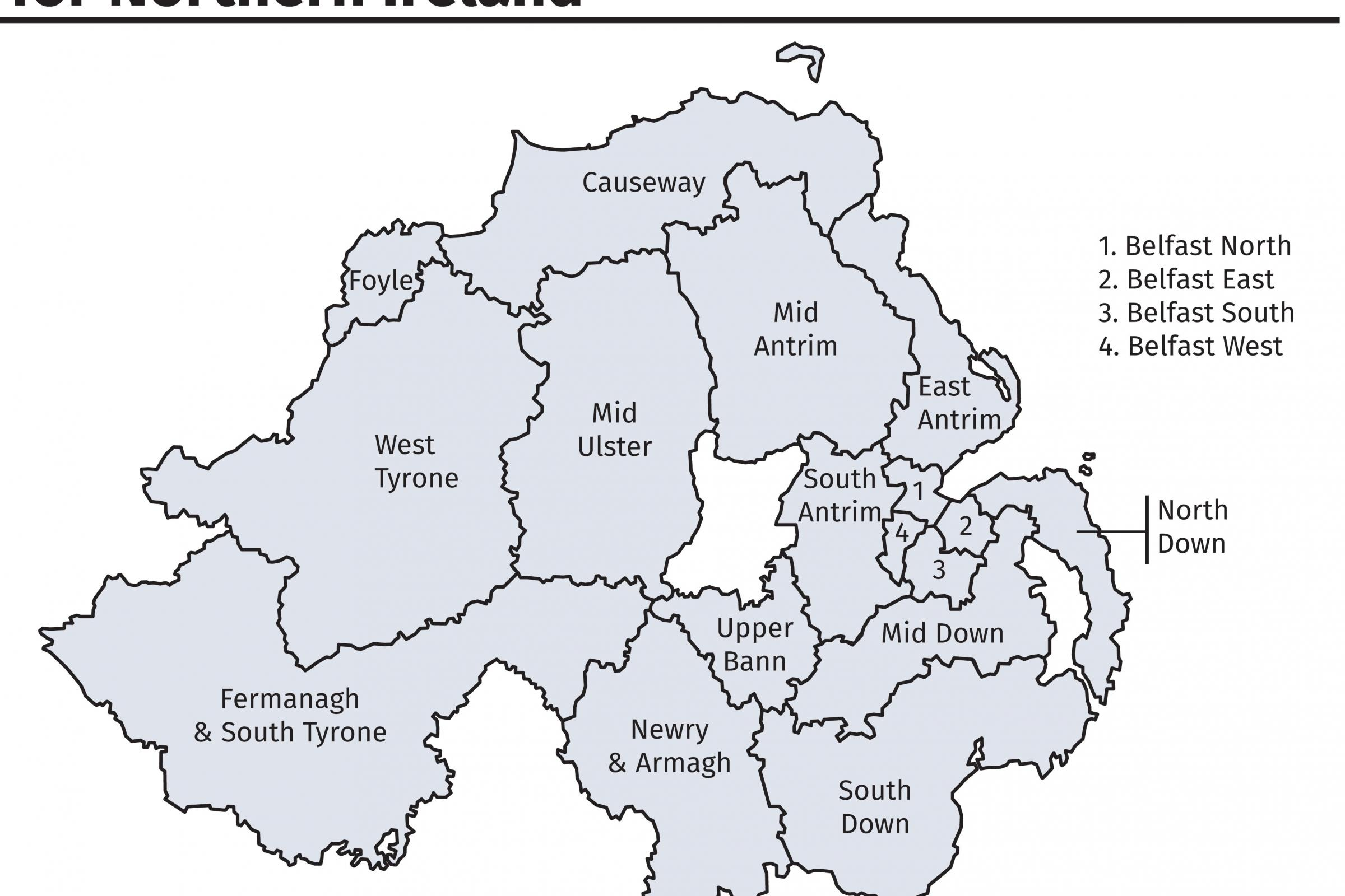 Boundary Commission stresses impartiality over proposed NI electoral