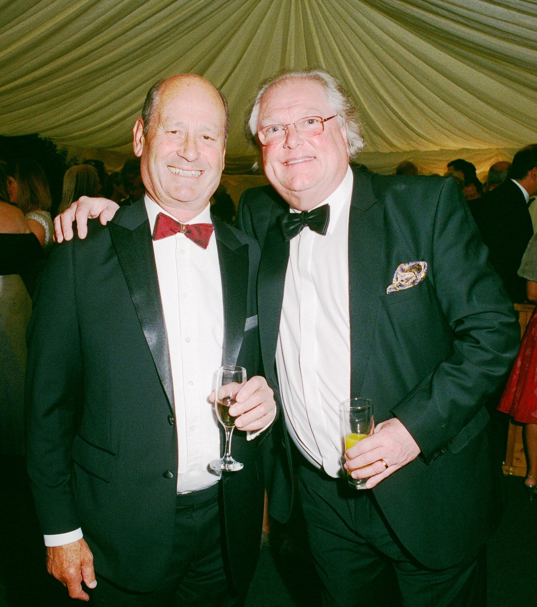 Jon Bellfield, left, with Lord Digby Jones at the Pedmore Sporting Club summer ball