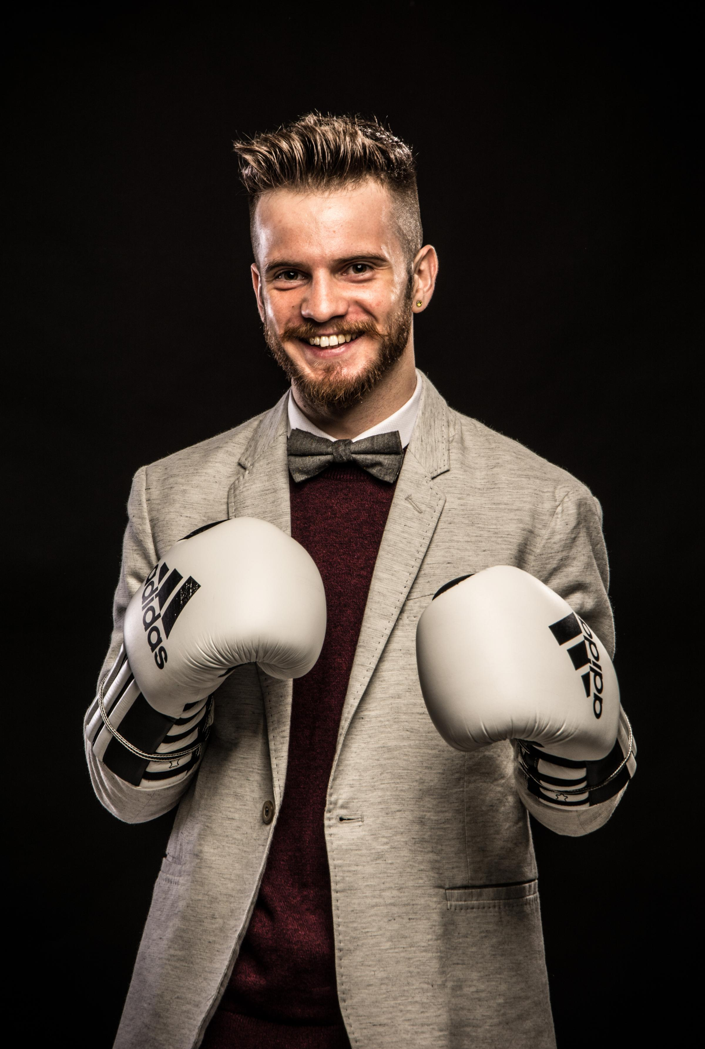 Matt Windle - the 'poet with a punch'.