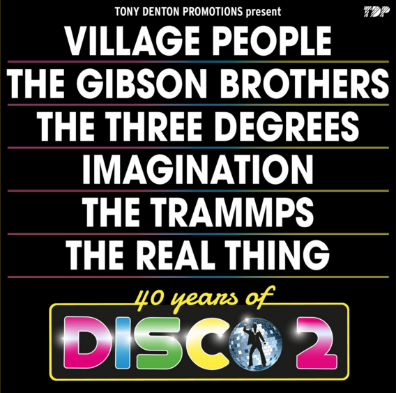 40 Years Of Disco 2019