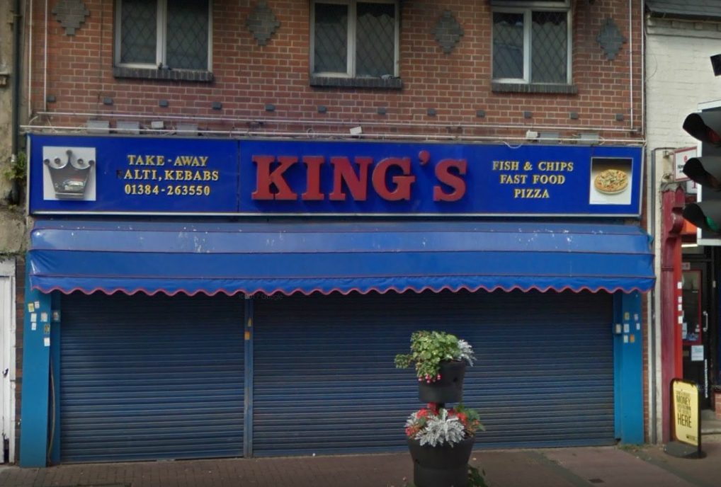Kings in Brierley Hill High Street. Pic - Google Street View
