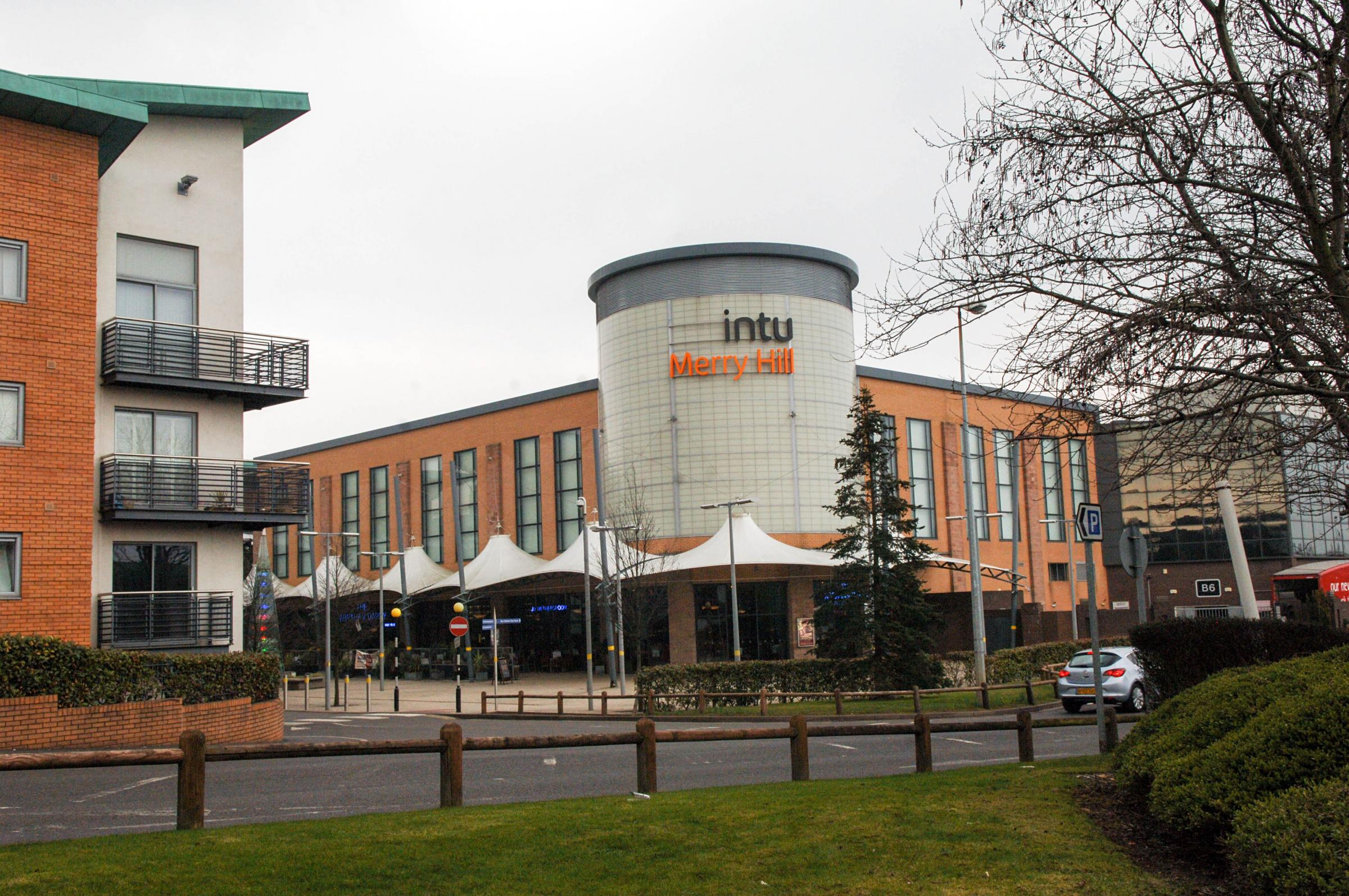 Merry Hill shopping centre, where the alleged attack took place. Picture: Louise Adey.