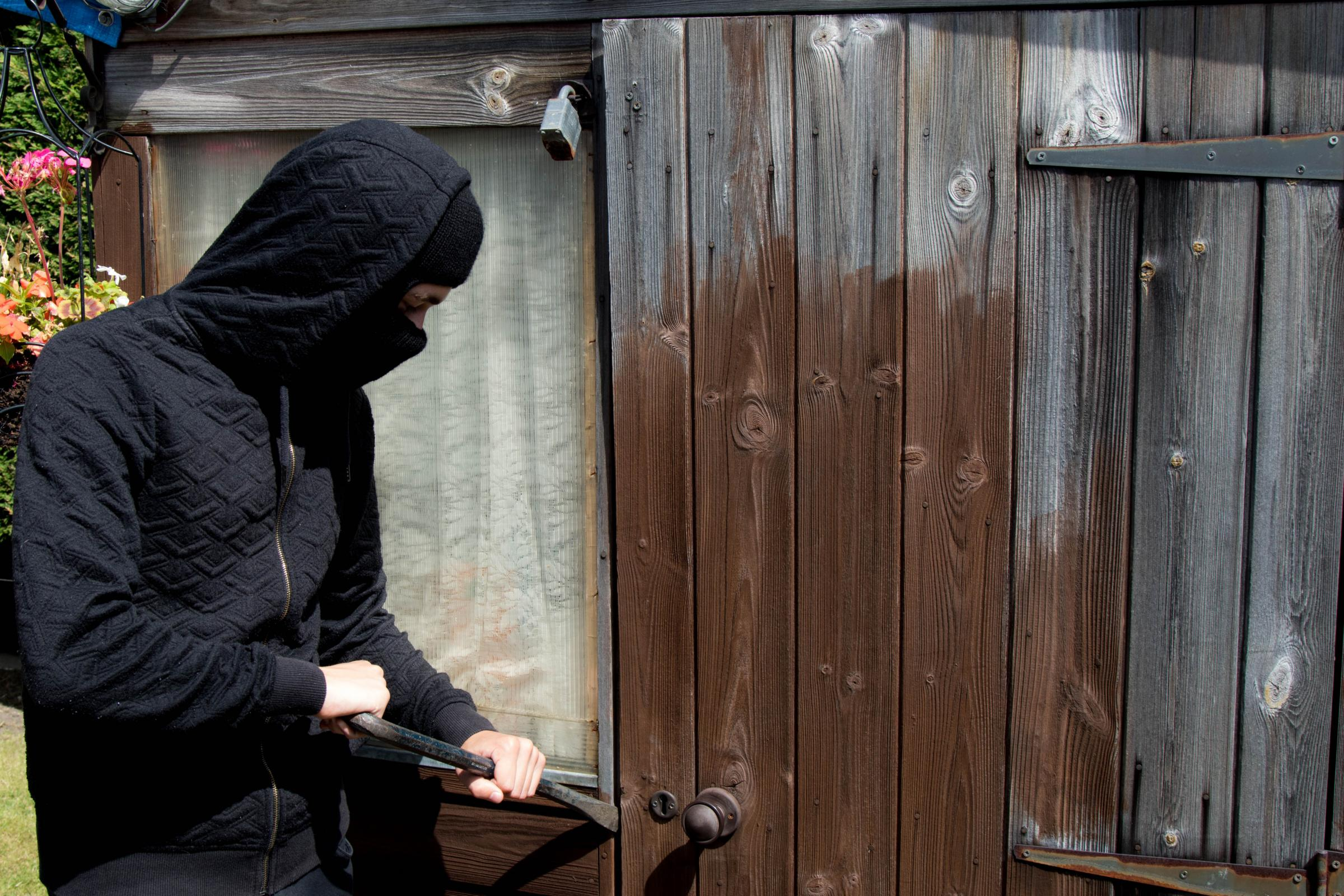 A spate of shed thefts hit a Kingswinford street last weekend.