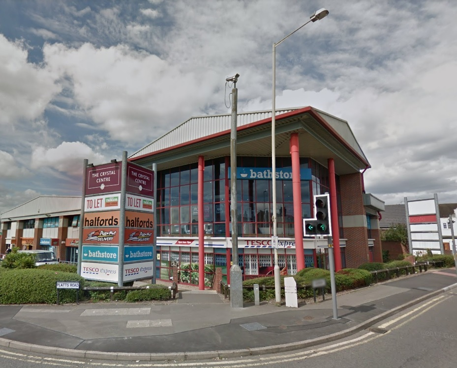 Crystal Retail Centre in Amblecote has been sold for £2.2m.