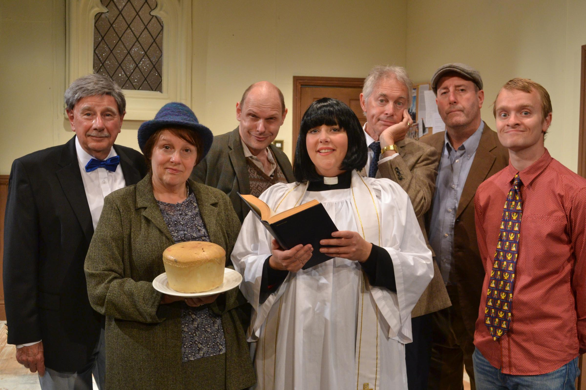 A popular stage version of BBC sitcom The Vicar of Dibley saw Oldbury Rep end the 2017-18 season on a high note.
