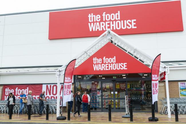 The Food Warehouse is due to launch a new store in Oldbury this September. Pic: Andy Forman