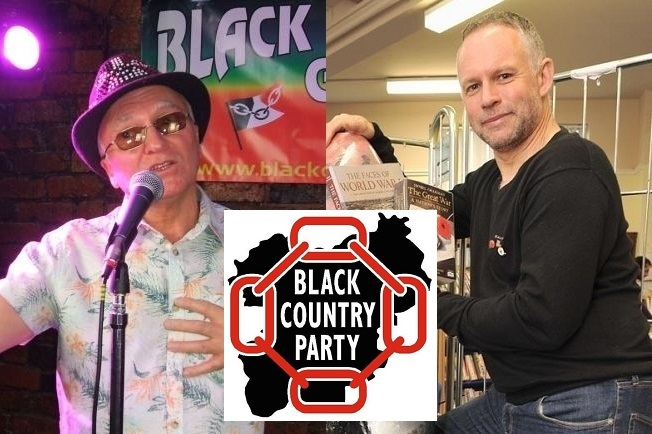 Garry 'Black Country Gaz' Sawers and former Halesowen councillor Stuart Henley are among the organisers of the new Black Country Party.