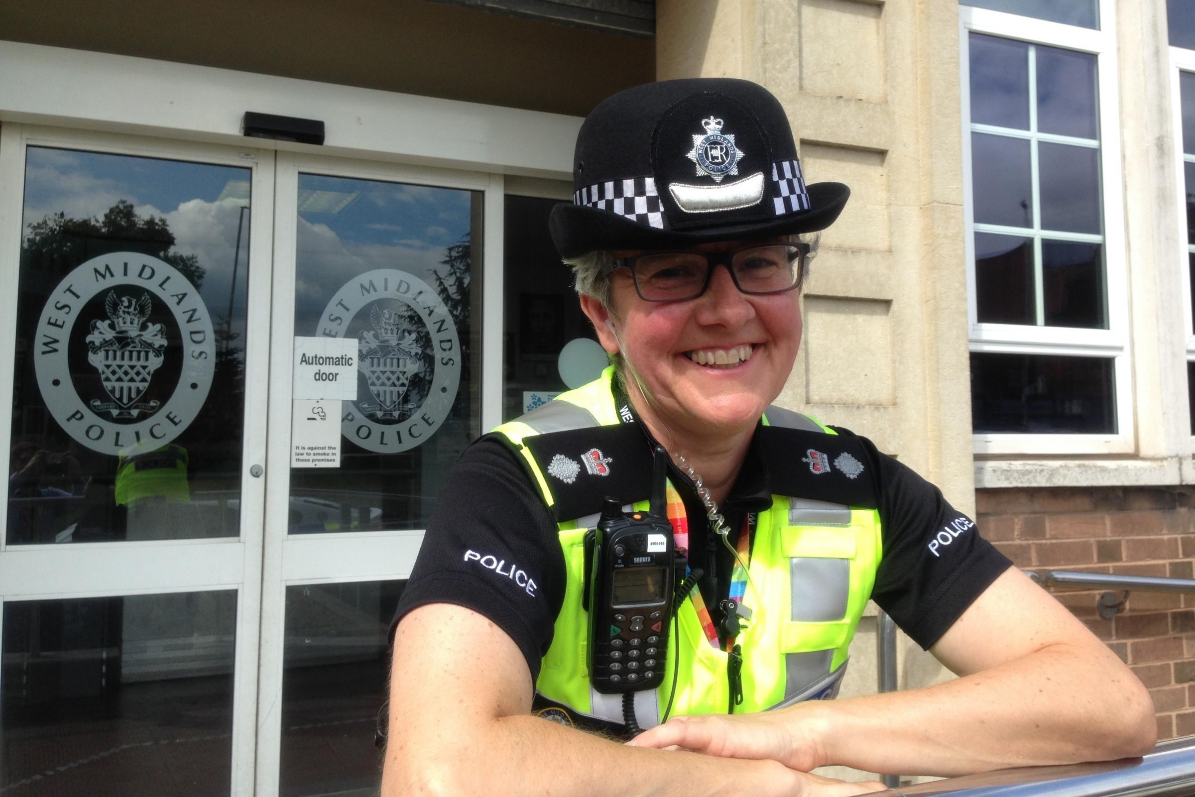Dudley's new Chief Superintendent Sally Bourner.