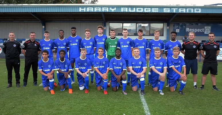Halesowen's youth team