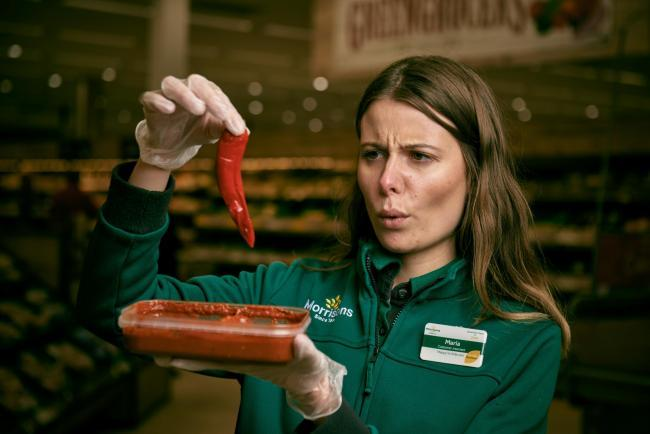 Morrisons Kingswinford has launched the hottest supermarket curry ever - the Flaming Fiery Phaal
