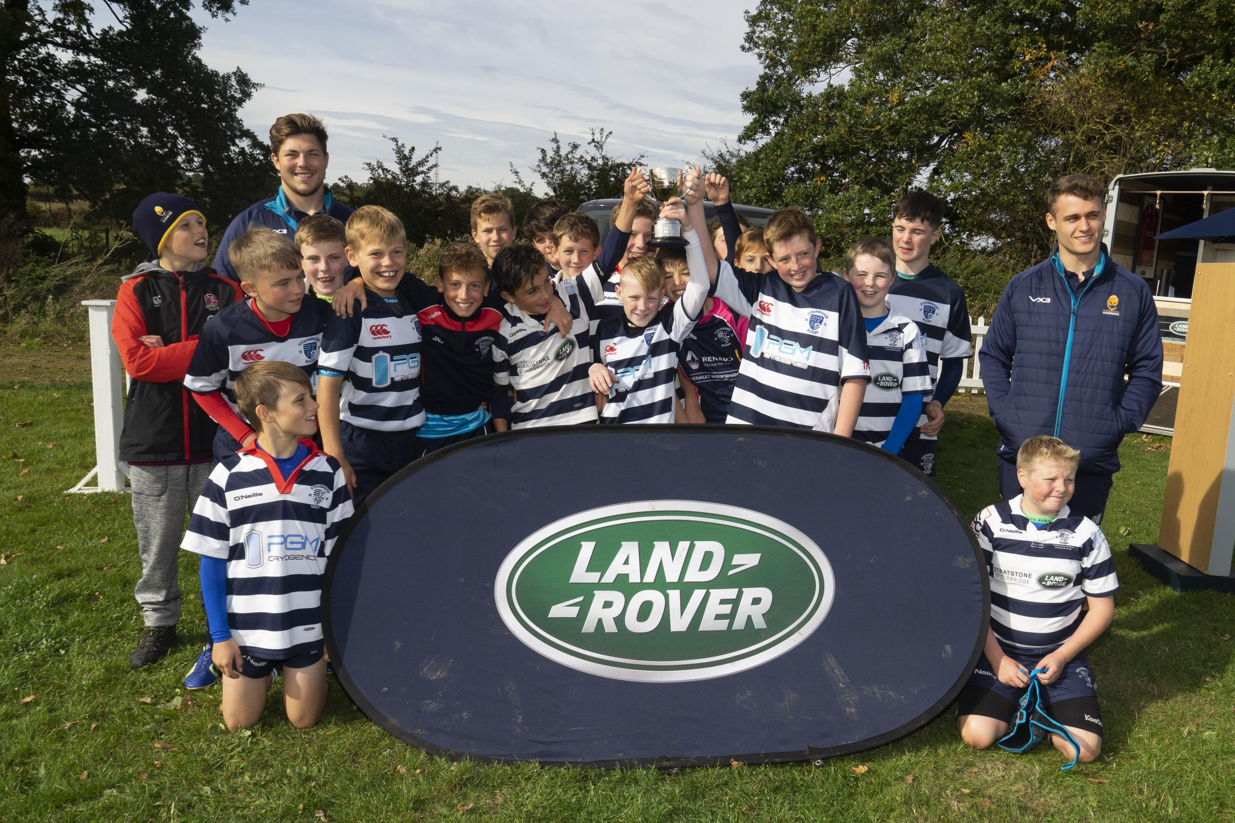 Stour youngsters celebrate their success