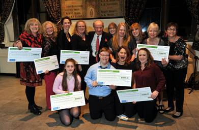 CHAMPIONS: Local people awarded for their community effort at the Cotswold Champions Awards