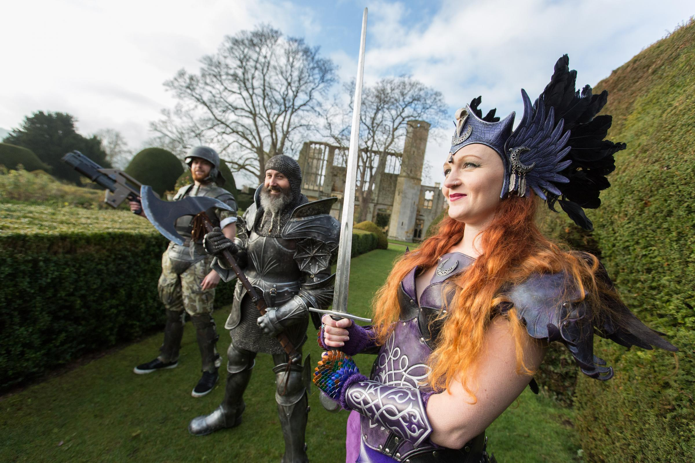 Fantasy Forest Festival is coming to Sudeley Castle. Picture: Barbara Evripidou