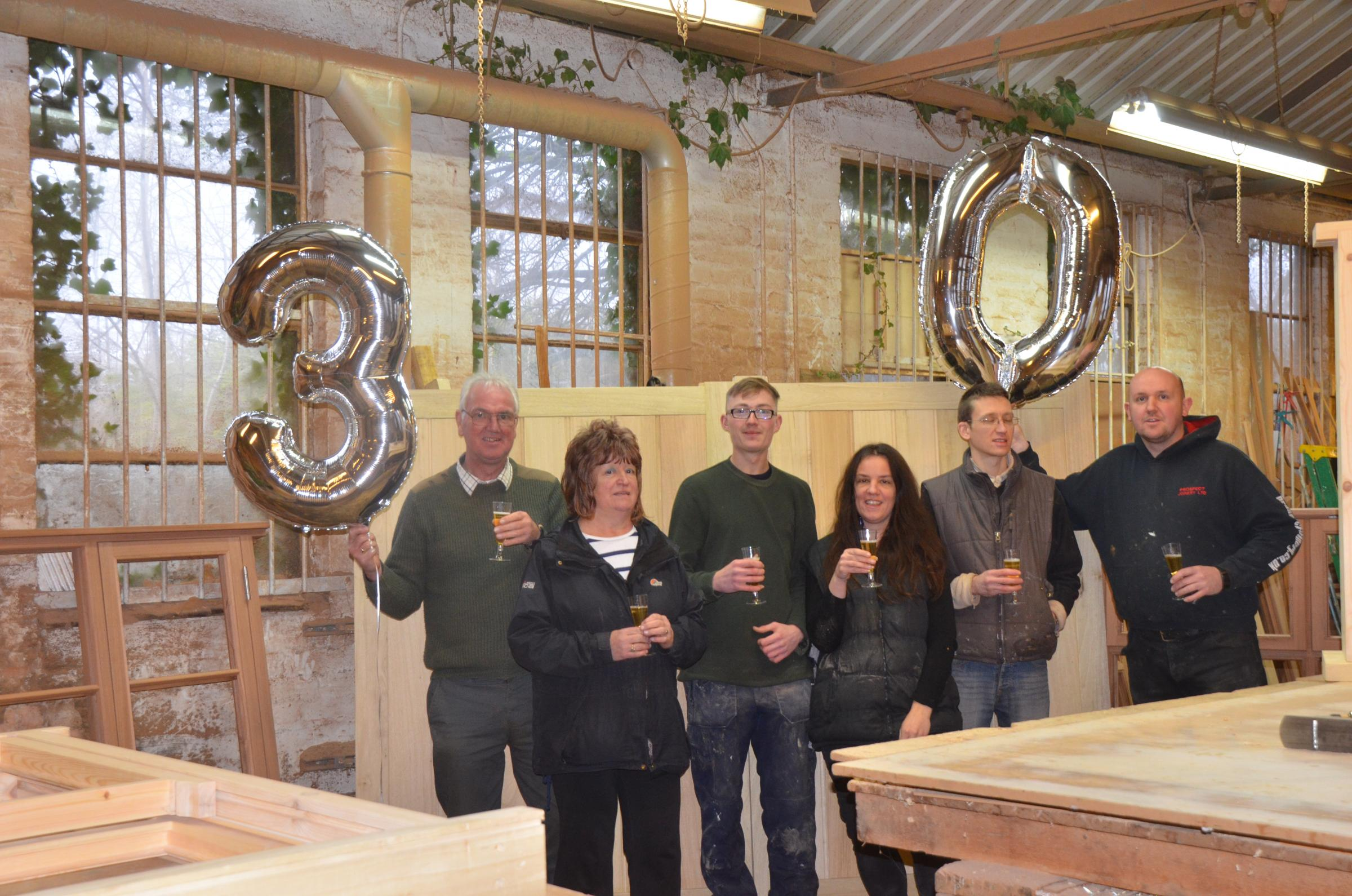Firm celebrates 30 years in business