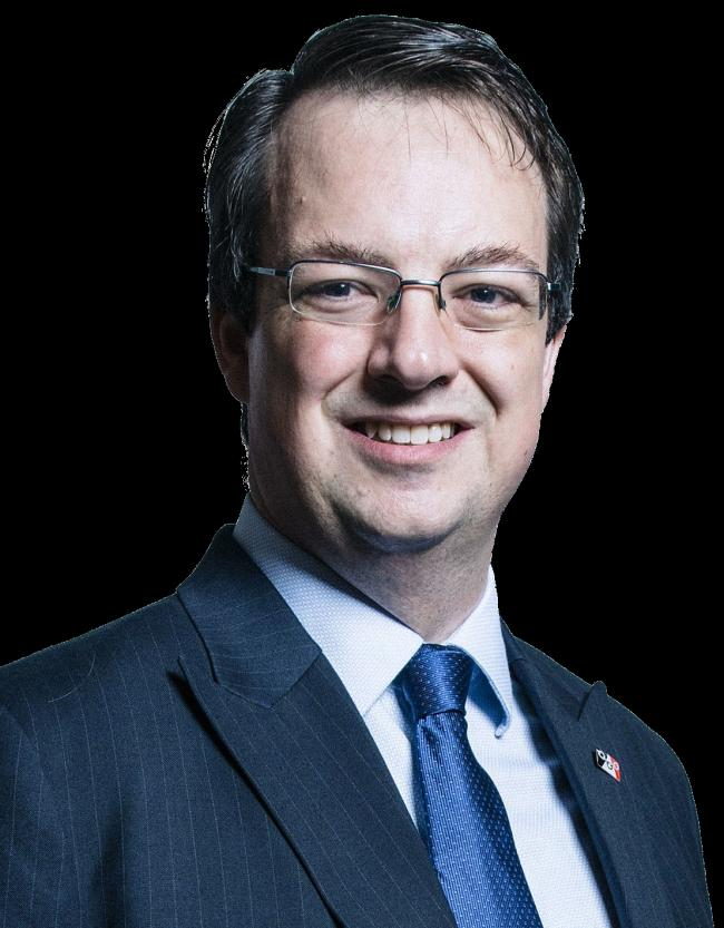 Michael Wood - UK Parliament official portraits 2017.