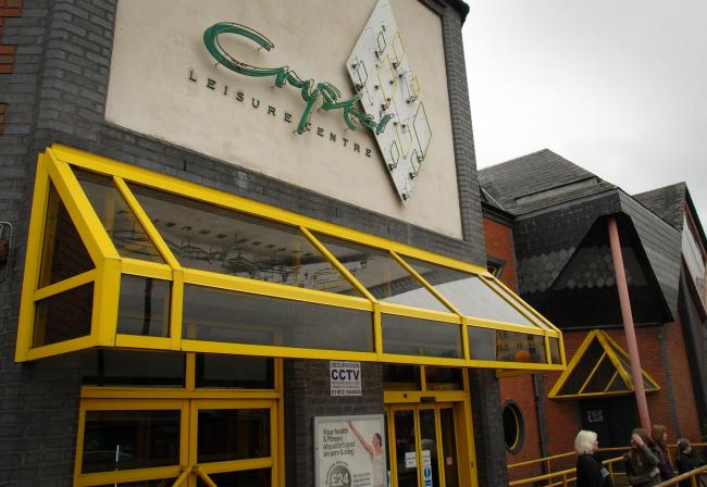 The Crystal Leisure Centre, Stourbridge..