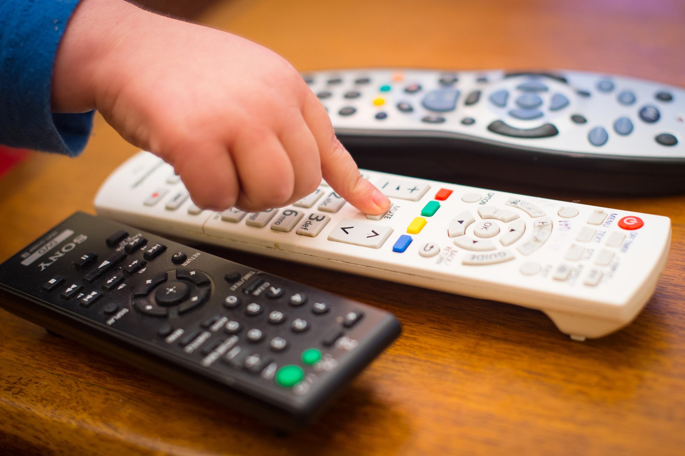 Remote controls, as Netflix is to provide age ratings for content