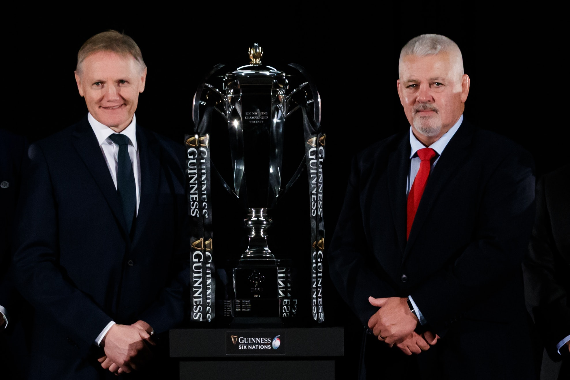 Joe Schmidt, left, and Warren Gatland