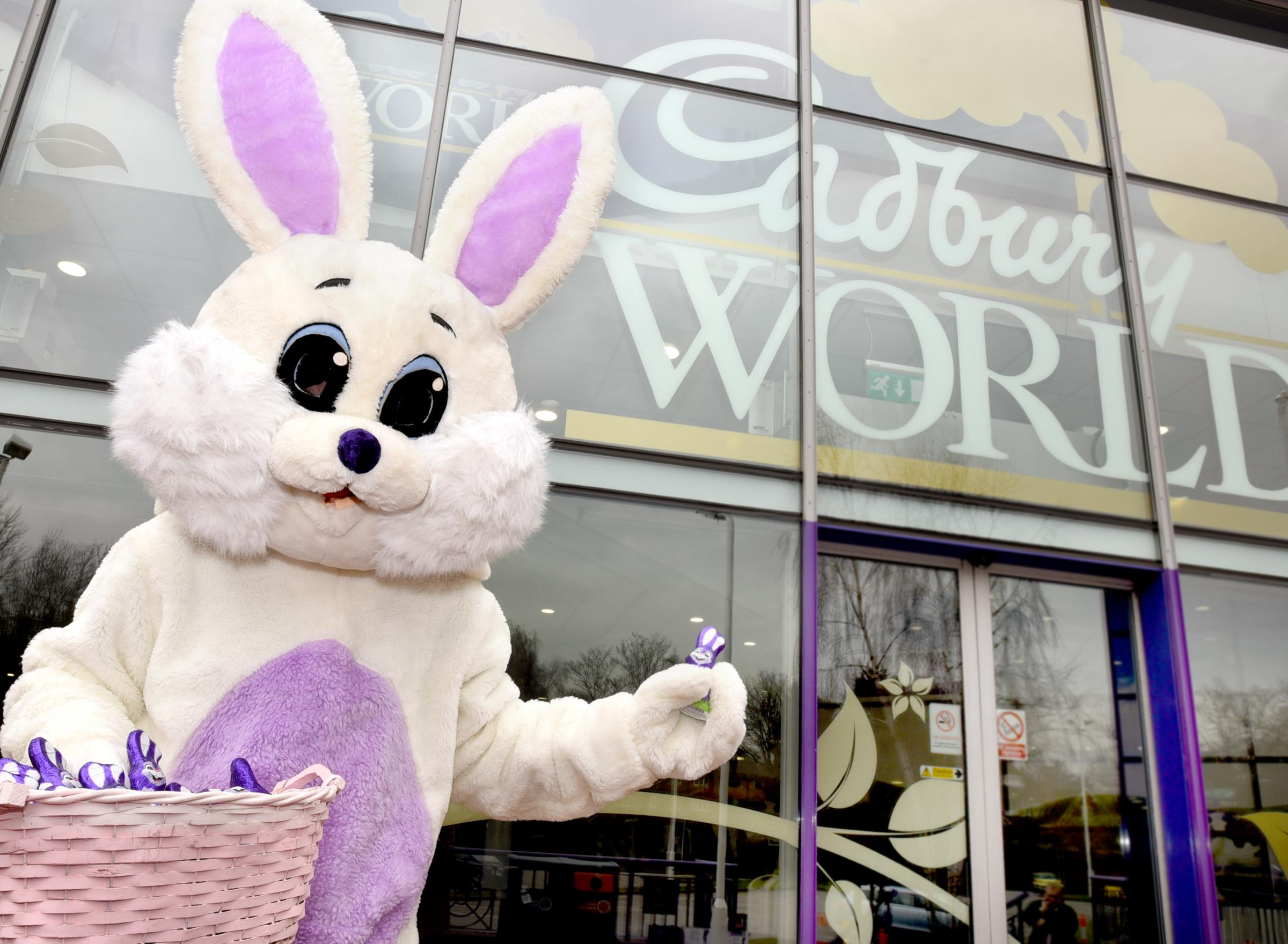 Egg-citing surprises in store at Cadbury World this Easter